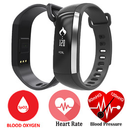 Wholesale huawei waterproof - M2 Smart Bracelet Blood Pressure Band Oxygen Oximeter Smartband Wristwatch Bluetooth Life Waterproof For iOS Android Huawei Xiaomi