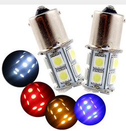 Wholesale 12v Interior Lights - 100PCS White 1156 1157 13SMD LED RV Camper Trailer 1141 Interior Light Bulbs 13SMD 12V wholesale
