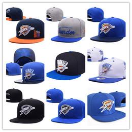 Wholesale Oklahoma City - wholesale new Oklahoma City Snapback Baseball Snapbacks Durant Westbrook basketball Snap Back Hats Womens Mens Flat Caps Hip Hop sports Caps