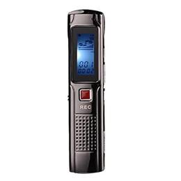 sonido digital mp3 Rebajas Al por mayor-4G de voz Grabadora de Audio Reproductor de MP3 Reproducción de Voz Digital Grabadora de Sonido Pluma Portátil Recargable Dictafono gravador de voz
