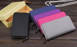 Wholesale Designer Wallets Phone - Top Europe 2017 Synthetic Leather High Quality women Wallet luxury brand designer Michael Wallets woman Clutch purse imitation brands