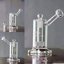 Wholesale Cheap Smoking Pipes For Sale - Mini Cheap Glass Bongs Water Pipes Bubber 18mm Bowl thick glass Recycler Oil Rigs Glass Bong For Sale Safe Shipping Smoking hookahs