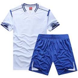 Wholesale Group Shirts - Group customization, DIY football suit, men's sportswear, training competition, team wear, light plate, shirt, short sleeve