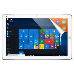 Wholesale Tablet Android Hdmi Quad - Wholesale- CUBE i12 iwork12 12.2 inch Intel Cherry Trail X5-Z8300 Quad-core 4GB 64GB Windows 10 & Android 5.1 Dual OS Tablet PC