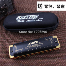 Wholesale Effective C - wholesale free shipping Easttop Bruce diatonic the king of the 10 hole harmonica T008k cost-effective