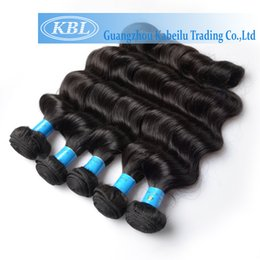 Wholesale Cheap 5a Brazilian Hair - Wholesale-KBL Brazilian Hair Product 5A Unprocessed Brazilian Virgin Hair Loose Wave Cheap Hair Bundles Wet And Wavy Virgin Brazilian Hair