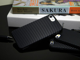 Wholesale Texture Iphone Tpu Case - Thin Carbon Fiber Texture Soft TPU Matte frosted Case for Apple iPhone 6 6S 7 Plus 5 5S SE Protection Back cover