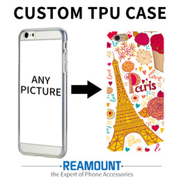 Wholesale Custom Printed Plastic Bags - 200 pcs Custom DIY Print Phone Cases For Samsung A3 2017 A5 2017 S6 S7 S6 edge Cover Case Personalized TPU Soft Back Shell Bags