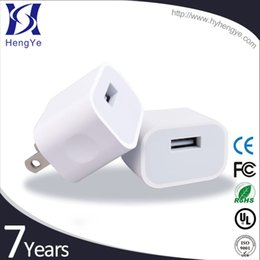 Wholesale Iphone Adapter Cube - US Wall Charger Mini EU UK AU Plug Cell phone wall Charger Power Cube 5V 1A for IPhone and Samsung