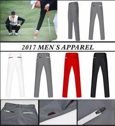 Wholesale Oem S - 2017 Ti golf long pants Men's Autumn keep warm dry fit wrikleless sports pant 4 color OEM available
