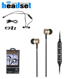 Wholesale Universal Items - new items S6-6 magnetic Bluetooth Headset Wireless running BT 4.2 in ear professional stereo earphone save battery for Samsung iphone