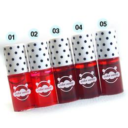 Wholesale Pink Tony - Liquid Tony Moly Cherry Pink Lip Tint Stain Magic Lip Plumper Nature Long Lasting Moisturizing Matte Lipstick lip gloss makeup