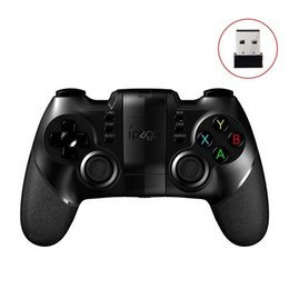 Wholesale ipega joystick games - Ipega Wireless Bluetooth Gamepad PG-9076 Game Controller Game Console Joystick with 2.4G Dongle for PS3 IOS Android Cellphone iPhone PC TV