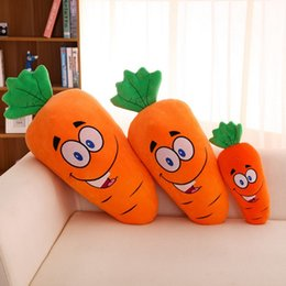 Wholesale Wholesale Cheap Dolls - 40cm 15.5 inch carrot plush toys dolls kids stuffed pillows children gifts lovely cute cushions wholesale cheap price