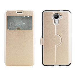 Wholesale Blu One Phone - protective 4colors PU leather mobile cell phone case cover free shipping high qulity for Blu Life One X2 Mini