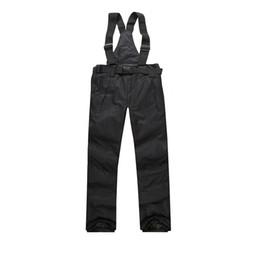 2017 Nouveau Hommes Ski Pantalon Chaud En Plein Air Sport Femmes Pantalon de Neige Femme Hiver Snowboard Hombre Avec Bandoulière Étanche ? partir de fabricateur