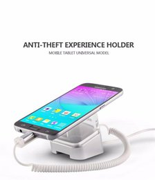 Wholesale Mobile Security Systems - Mobile phone tablet charging anti-theft experience holder security alarm system multi-angle display with anti-slip rubber