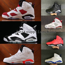 Wholesale Fabric Bunny Pink - 2017 New Mens Air Retro 6 VI Basketball Shoes High Quality Sports Running Men Trainers Athletics Slam Dunk Bugs Bunny Retros 6s Sneakers