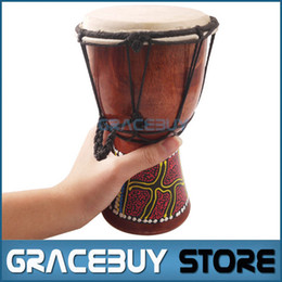 Wholesale Percussion Sale - Wholesale- African Djembe 4 Inch Percussion Hand Drum For Sale, Wooden Jambe  Doumbek Drummer