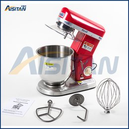 Wholesale Electric Dough - 7L electric planetary food mixer machine blender spiral bread dough mixer egg beater with dough hook removable bowl