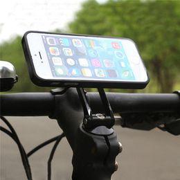 Wholesale Bike Stem Adjustable - Universal Adjustable Mobile Phone Holder Bicycle Bike Head Stem Mount Stand Bracket For Samsung For iPhone6 6s 7 Plus For Huawei