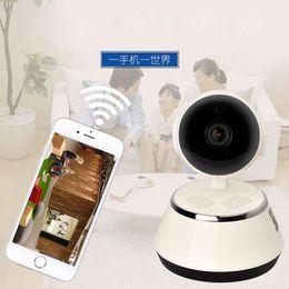 Wholesale Tf Security Cameras - Home Security IR Cut Night Vision IP Camera Wireless Surveillance Wifi 720P CCTV Camera Baby Monitor 32GB 64GB Memory TF card