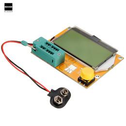 Wholesale Dip Meters - New DIY Electric LCD Mega328 Transistor Tester Diode Triode Capacitance ESR Meter NPN L C R Testers Transistors Diodes