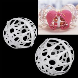 Wholesale Ball Bubble Bra - Hot Ball Bubble Bra Saver Washers Laundry Washing Double Machine Protector Kit For Home Cleaning Tools