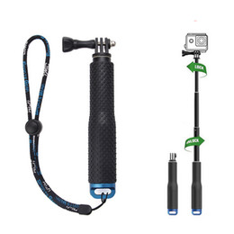 Wholesale Dive Sticks - Extendable Handheld Stick Telescopic Monopod Tripod for Gopro Hero 5 4 SJ4000 SJ5000 F60 EKEN H3 H8 H9