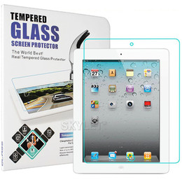 Wholesale Ipad Screen Protector Retail - For iPAD Tempered Glass Screen Protector For Ipad 2 3 4 Ipad mini Film Tablet Screen Protector 9H 0.4MM Tempered Glass Retail Package