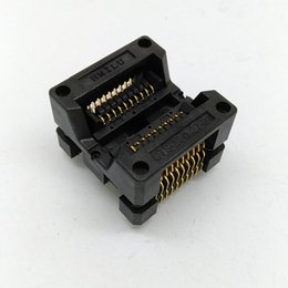 Wholesale Programmer Ic Adapters - SOP20 Adapter Socket IC SOIC20 SOP16 SOP20 IC programmer socke 20PIN 1.27mm Pitch