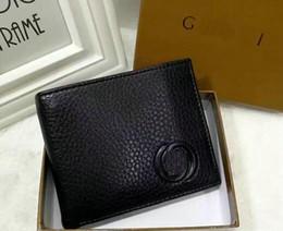 Wholesale Credit Card Holder For Male - Mens Best quality 2017 Male Genuine Leather luxury wallet Casual Short designer Card holder pocket Fashion Purse wallets for men