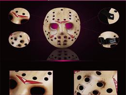 Wholesale Horror Film Face Masks - Freddy Vs. Jason Horror Killer Mask Collection Full Face Resin Cosplay Film Mask Masquerade Performance Dancing Mask Halloween Party Decor