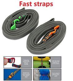 Wholesale Ice Climbing Equipment - Outdoor Tighten Belt Belt Strap Bundle Strap Stainless Steel Belt Quick Travel Equipment M467