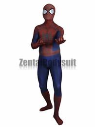 Impresión en 3D The Amazing Spider-man2 Zentai Disfraz de Spiderman fiesta de Halloween desde fabricantes