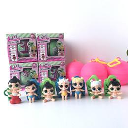 Wholesale Baby Stuffs - Wholesale- Lol Surprise Doll Series 2 Baby Stuffed toys Boneca Surpresa Eggs Lol Dolls Action Figure Toys Christmas Gift Random Color Send