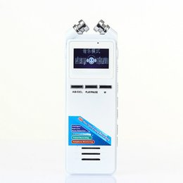 Wholesale Vor Recording - Wholesale- FineFun Professional 8GB Dictaphone High-definition Digital Recorder VOR Phone Recording Recording Pen