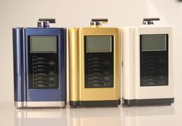 Wholesale Drink Display - 2017 Newest Alkaline Water Ionizer,Water Ionizer Machine,Display Temperature Intelligent Voice System 110-240V Gold Blue White