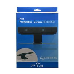 Для PS4 ТВ Клип Маунт Док-подставка Держатель для Sony PlayStation 4 PS 4 Eye Camera Sensor Складной Браслет от