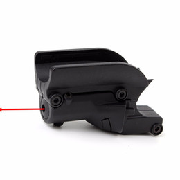 Wholesale Airsoft Lasers - Tactical Hunting 5mw Red Laser Sight Scope Red Dot Sight For 1911 Pistol Airsoft with Lateral Grooves F