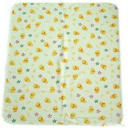 Wholesale Disposable Changing - Children Yellow Duckling Changing Mat Cartoon Printed Cotton large Size Disposable Baby Changing Mat Changing 70*120cm WMC16020