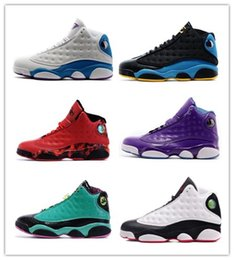 Wholesale Blue Reflective Fabric - Wholesale Retro 13 XIII Red Black Green Doernbecher Chicago reflective silver Mens Basketball Shoes Men Cheap Sneakers