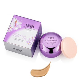 Wholesale Facial Bb Cream - YiLiANGa BB Creamy Full Coverage Concealers for Dark Circles Freckles Acne Nude Moisturizing Foundation Concealer Facial Makeup