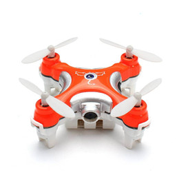 Wholesale Rc Connections - 2017 Cheerson CX-10C 2.4G 4CH RC Quadcopter With 0.3MP Camera Nano Helicopter Drone Remote Control Toy hot DHL Free Shipping
