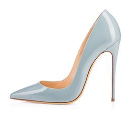Wholesale Light Blue Wedding Heels - Zandina Ladies Handmade Fashion ASO-kate 120mm Pointed Toe Classic Party Slim Heel Pumps Stiletto Shoes Light-blue
