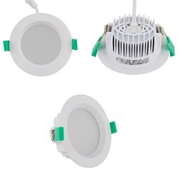 Wholesale Super Bright Ceiling Light - Super Bright 5730 SMD 9w 12w led down lights 120 angle dimmable led downlights recessed ceiling led lights ac 110-240v + CE UL SAA