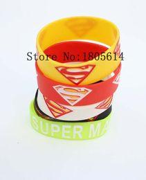 Жара! Новый Супермен спортивные браслеты 100% силиконовые тренажерный зал фитнес браслет может бесплатная доставка Оптовая 50 шт. от