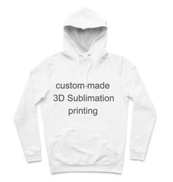 Wholesale Hoody Custom - Wholesale- REAL American SIZE Custom - Create your own - 3D Sublimation Printing Hoody   Hoodie Plus size