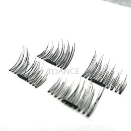 Wholesale Hair Labels - Buenas Magnetic eyelashes lastest 12pcs easy to ware magnet eyelashes ultrathin magnetic lash private label logo can be accepted