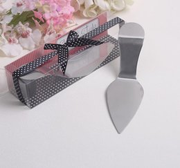 Wholesale Cake Design Supplies - 50 pcs  lot Wholesale creative design european style High Heel Cake Server wedding gifts party favors For Guest free shipping